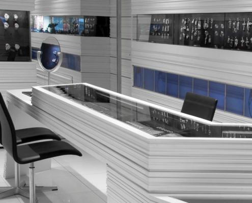 Applicazione Desk Corian® Attività Commerciale