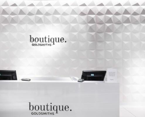 Applicazione Corian® Desk di Boutique